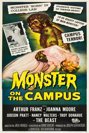 Monster on the Campus, 1958