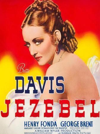 Jezebel, Bette Davis, 1938