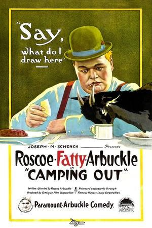 Camping Out, Roscoe 'Fatty' Arbuckle, 1919