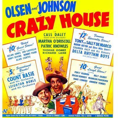 Crazy House, Ole Olsen, Chic Johnson, 1943