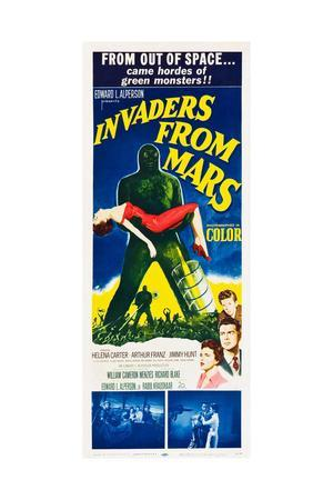 INVADERS FROM MARS, 1953.