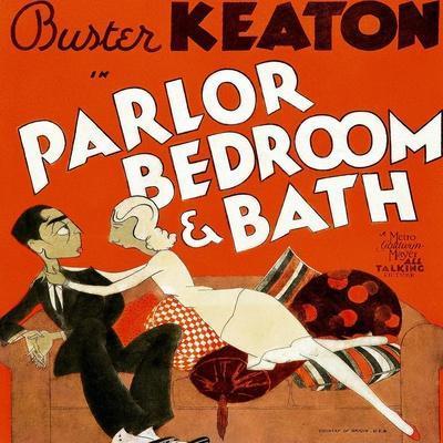 Parlor, Bedroom and Bath, Buster Keaton, Charlotte Greenwood, 1931