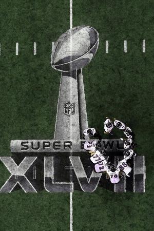 Baltimore Ravens Huddle: Super Bowl XLVII
