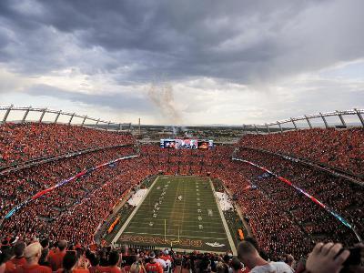 Broncos Football: Sports Authority Field