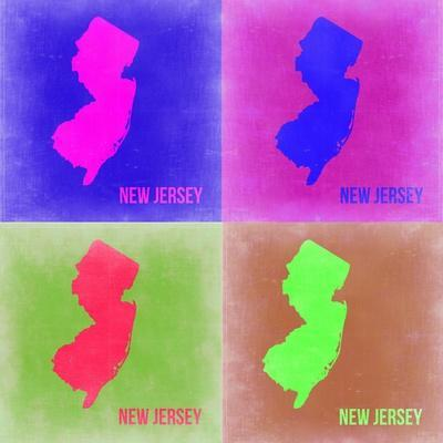 New Jersey Pop Art Map 2