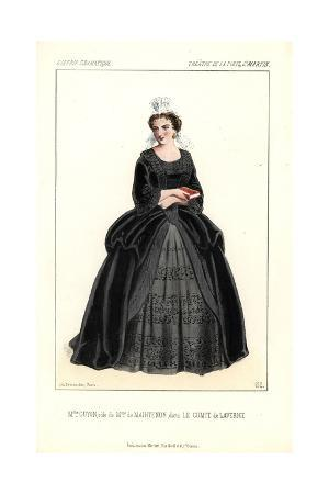 Mme. Guyon As Mme. De Maintenon in the Play Le Comte De Lavernie at the Porte St. Martin