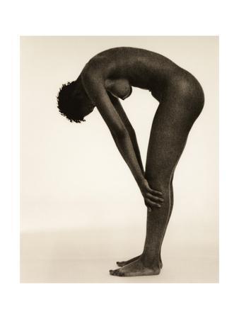 Naked Woman Bending Over Giclee Print - Cristina