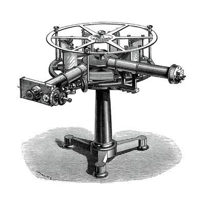 Spectroscope, 19th Century Artwork