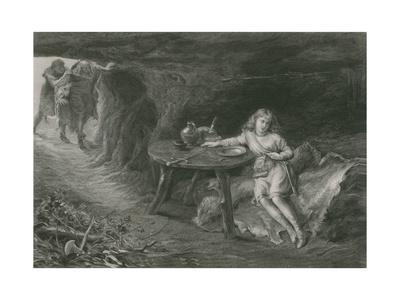 Imogen in the Cave, Cymbeline