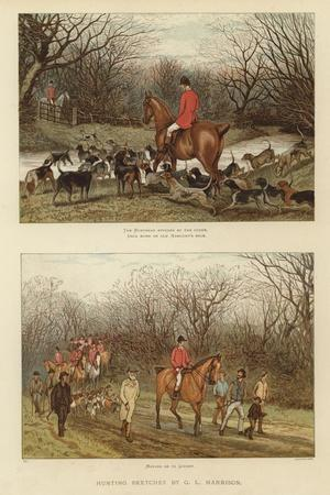 Hunting Sketches by G L Harrison