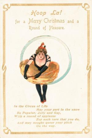 Hoop La, Christmas Card