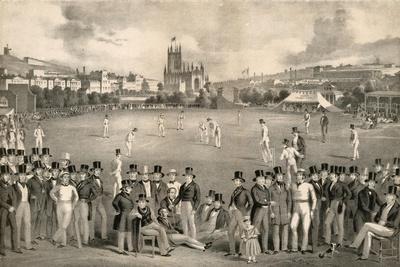 Sussex Cricket Club Vs Kent, 1849, Brighton