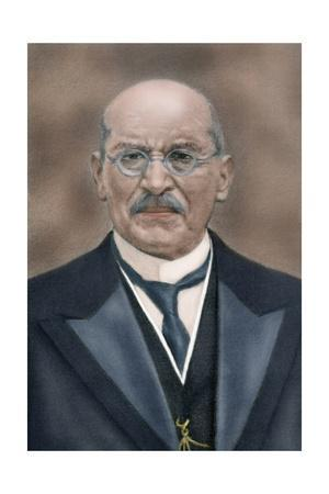 Victoriano Huerta (1850-1916). Colored Engraving Giclee ...
