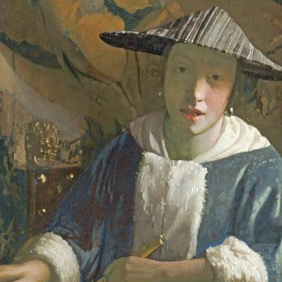 Young Girl with a Flute, C.1665-70
