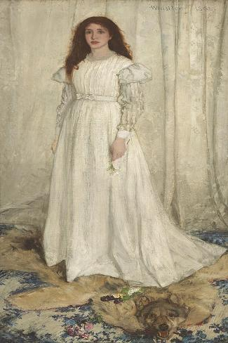 "/""The White Girl/"" 1862 James McNeill Whistler — Giclee Fine Art Print"