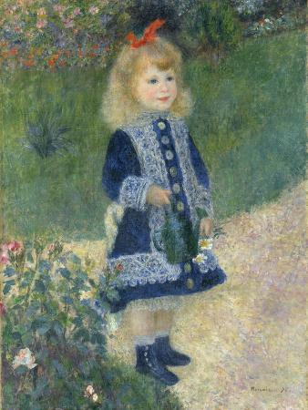 A Girl with a Watering Can, 1876