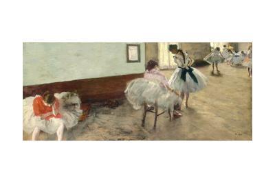 The Dance Lesson, C.1879