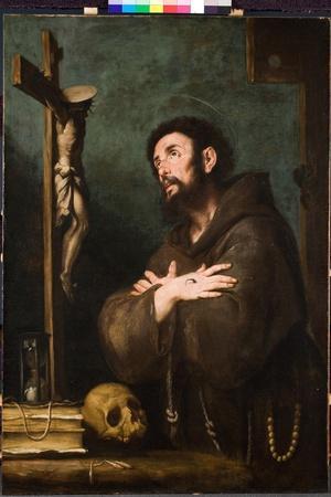 St. Francis in Ecstasy, C.1610-20