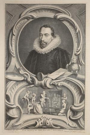 Portrait of Sir Francis Walsingham, Illustration from 'Heads of Illustrious Persons of Great…