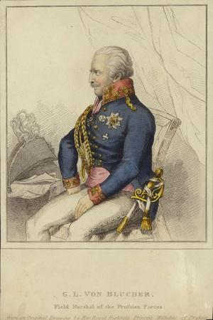 G L Von Blucher, Field Marshal of the Prussian Forces (1742-1819)