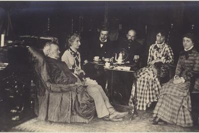 Portrait of Richard Wagner with Friends and Family