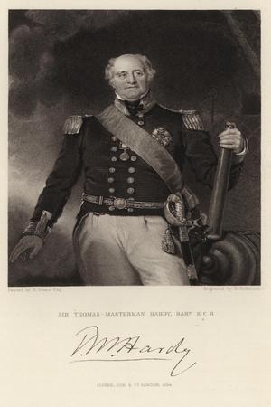 Sir Thomas-Masterman Hardy