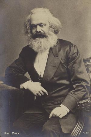 Karl Marx (1818-1883), German Philosopher, Economist, Historian and Political Theorist