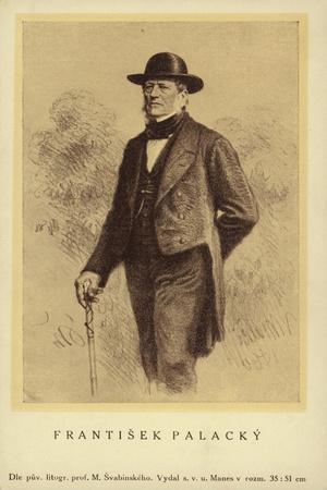 Frantisek Palacky (1798-1876), Czech Historian and Politician