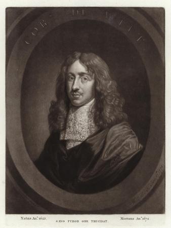 Portrait of Cornelis De Witt