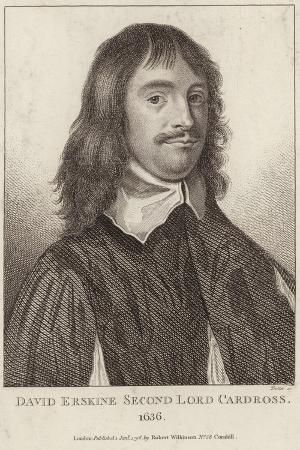 Portrait of David Erskine, Second Lord Cardross