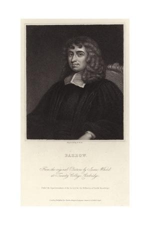 Portrait of Isaac Barrow
