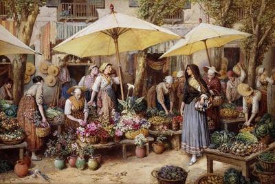 The Flower Market, Toulon