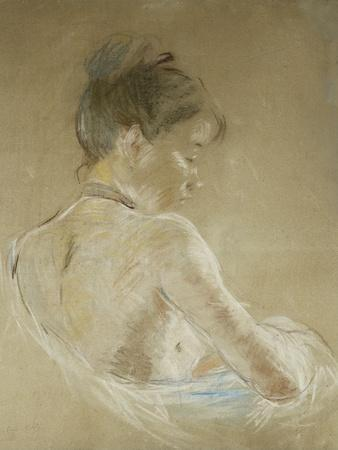 Young Girl with Naked Shoulders; Jeune Fille Aux Epaules Nues, 1885