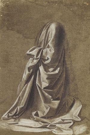 Drapery Study for a Kneeling Figure