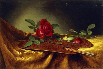 Roses on a Palette, 1880's