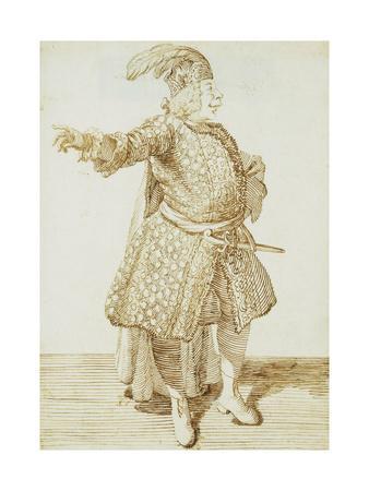 Portrait of the Castrato Gaetano Caffarelli, C.1735