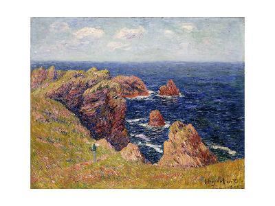 The Brittany Coast; La Cote Bretonne, C.1895