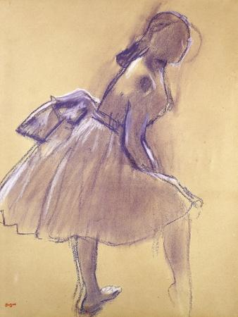 Dancer Standing, in Profile; Danseuse Debout, De Profil, C.1880