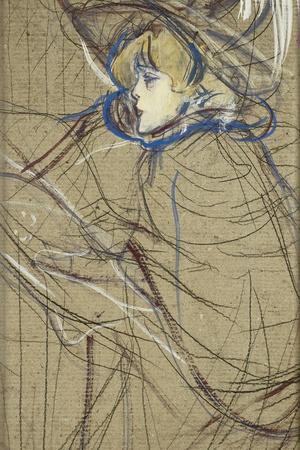 Profile of Woman: Jane Avril; Profil De Femme: Jane Avril, 1893