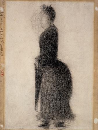 Woman with a Parasol; Femme Au Parapluie, C.1883