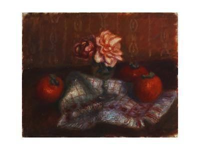 Roses and Persimmons