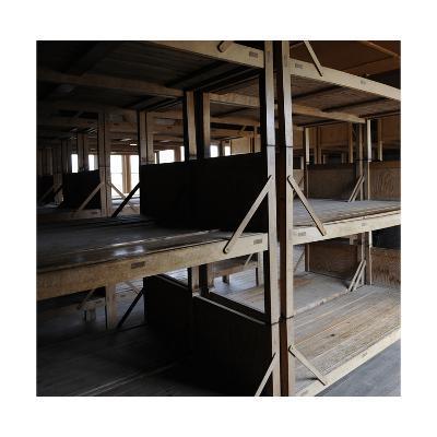 Dachau Concentration Camp. Barrack. Interior. Germany