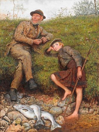 Fisherman and Boy, 1866