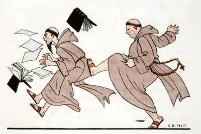 Being Chased by the Abbot, 1920