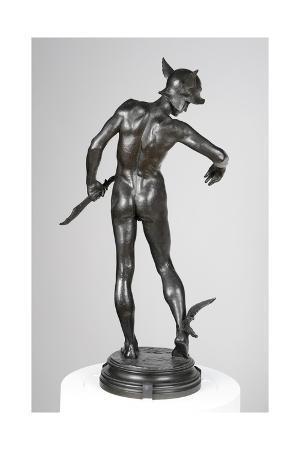 Perseus Arming, 1882
