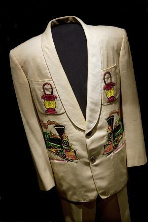 Hank Snow's ?Nudie? Stage Suit on Display in the Country Music Hall of Fame in Nashville Tennessee