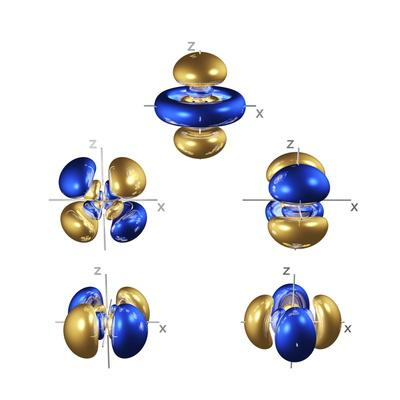 5d Electron Orbitals
