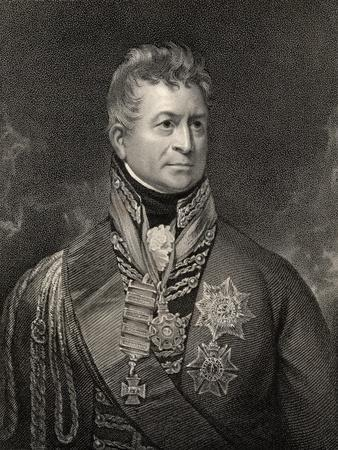 Sir Thomas Picton, Engraved by Peltro William Tomkins (1760-1840), from 'National Portrait…