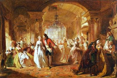A Ballroom in the Year 1760, 1848