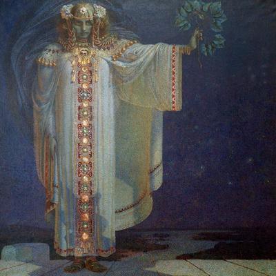 The Prophetess Libuse, 1893